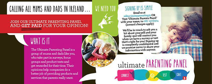 Ultimate parenting panel