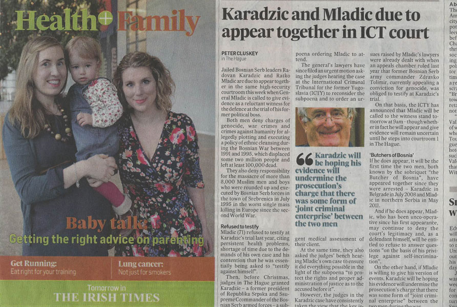 babytalk in the irish times